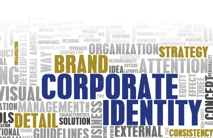 Bild mit Text Corporate Identity, Brand, Strategy